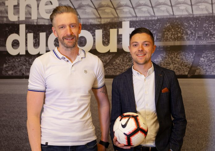 Technical Director, Tim Lenton and Account Director, Jamie Bourn